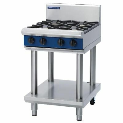 Blue Seal 600mm Cooktop with 2 Burners and Griddle