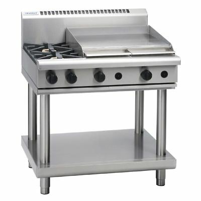 Waldorf by Moffat 2 Burner Cooktop and Griddle