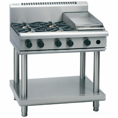 Waldorf by Moffat 4 Burner Cooktop and Griddle