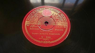 "Rosetta Pampanini - Madama Butterfly / La Wally , Shellac, 12"" , 1927 , Italy"