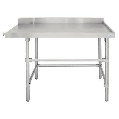 Vogue Dishwasher Outlet Table R 1200mm Stainless Steel
