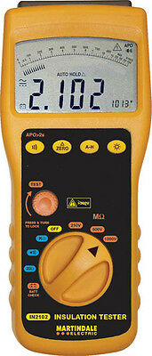Martindale IN2102 MULTI VOLTAGE INSULATION CONTINUITY TSTER