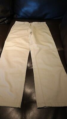 nautica pants for girls size 10 regular school uniform new without tags tan