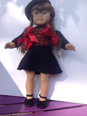 American Girl Doll Molly ,two outfits And books