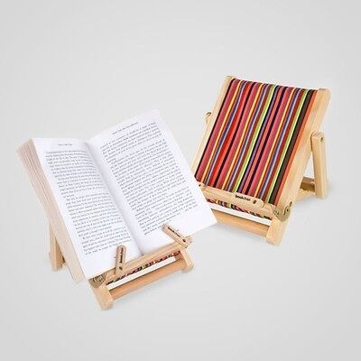 Deckchair Book Stand – 'BookChair' for books, eReaders, iPads, tablets.