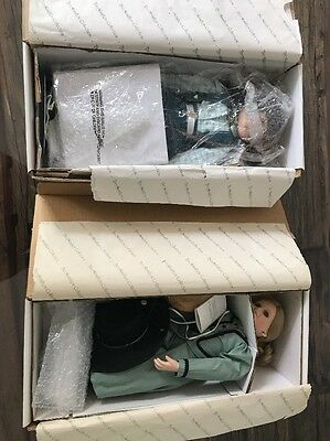 The Hamilton Collection Porcelain Doll Lot Of 2 Cheyenne Skyler