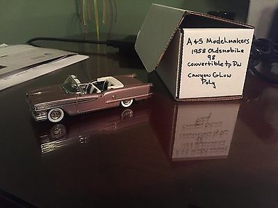 A+S Model Makers- 1958 Oldsmobile 98 Convertible