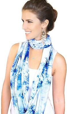 Infinity Nursing Scarf And Ndash; Privacy Cover Up For Breastfeeding Baby And