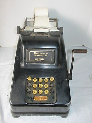 1940's vintage Underwood Sundstrand Adding Machine LQQK!
