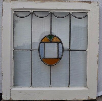 Art deco leaded light stained glass window. R566. WORLDWIDE DELIVERY!!!