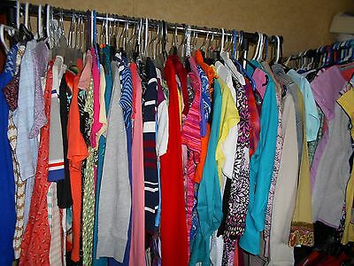 50 PC Wholesale Women's Mixed Clothing Lot-Assorted-Top-Pants+ Resale Inventory