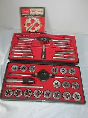 Vintage Craftsman Kromedge Tap and Hexagon Die Set 9-5201 LQQK!