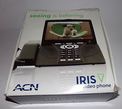 ACN IRIS Video Voip Phone Model WG4K - Excellent Condition Works Great