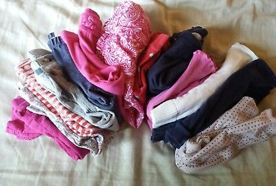 Lot of Baby Girl Size 6-12 Months babyGap Gymboree peek (13 items)