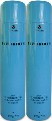 Vivant Revitafoam 125 Ml The Conditioning Mousse X 2