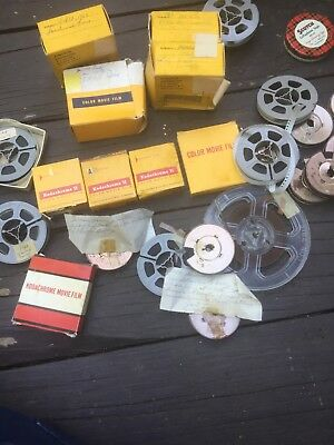 Estate Lot Vintage 8mm Film Home Movies Fair Vacations