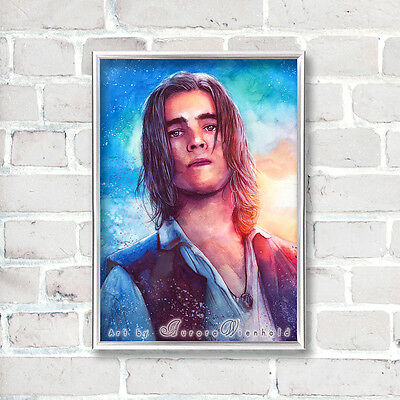 "LIMITIERTER DRUCK ""I'm looking for a pirate"" PRINT BRENTON THWAITES HENRY POTC 5"