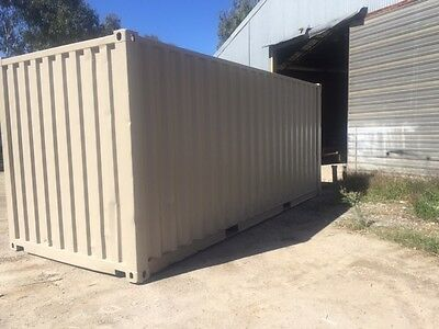 20' Fully Painted Shipping Container - VIC