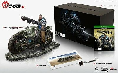XBOX ONE Gears of War 4: Collector's Edition AUS PAL (NEW)