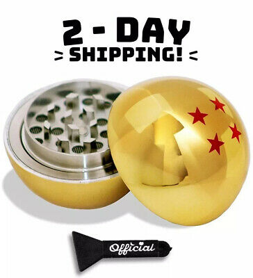 HIGH QUALITY Dragon Ball Tobacco/Spice/Herb Grinder 3 Piece 2.2 inch - One Star