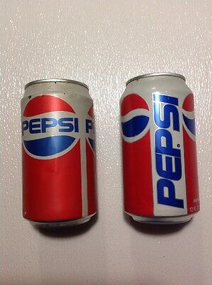 Two Classic Pepsi Cans Stay Top