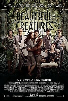 Beautiful Creatures Original D/S One Sheet Rolled Movie Poster 27x40 NEW 2013