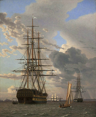 Best gift Ship Sailing Oil painting Art wall Picture HD Printed on canvas hyfc30