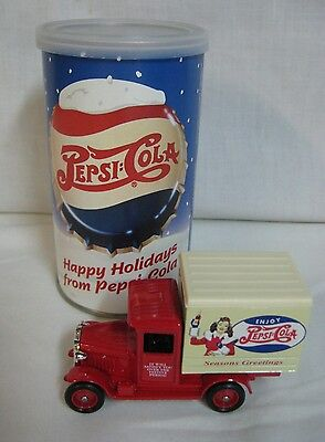 Special Limited 1986 Pepsi Cola Lesney Holiday Truck In A Can