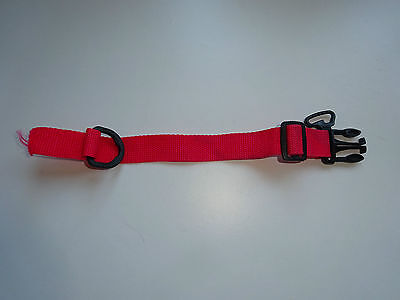 iCandy Cherry waist harness/strap/belt with clip part for Seat Unit Frame Red