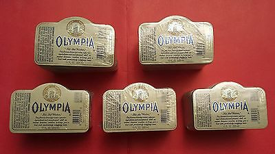 """Olympia Beer Bottle Labels 1000s (5 Bundles)  """"It's the Water"""""""