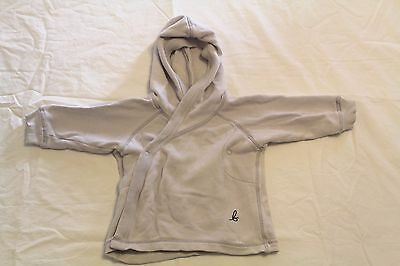 Bonds baby crossover button up hoodie size 0 warm winter jacket