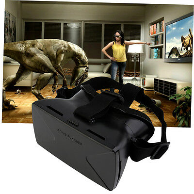 Virtual Reality VR 3D HD For Google Cardboard Glasses Movie Game Head Mount BES