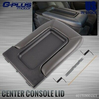 Gray Center Console Lid Repair Kit For Cadillac Chevrolet GMC SUV Pickup Truck