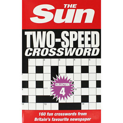 Two Speed Crossword - Collection 4 (Paperback), Non Fiction Books, Brand New