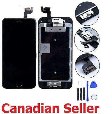 "New Black Full LCD Screen Display 3D Touch Digitizer For iphone 6S Plus 5.5"" 6S+"