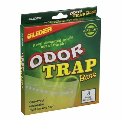 Odor Trap Smell Proof Bags - Various Sizes - Clip Seal Baggies Carbon Filtered