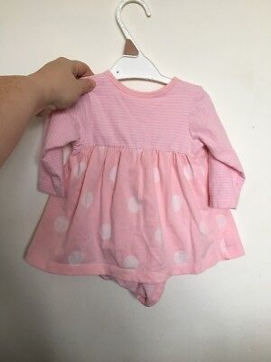 Mothercare Baby Girl Romper Dress 3-6 Months