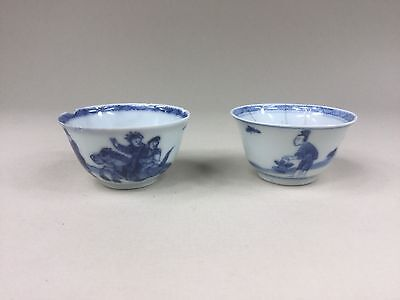 Two Kangxi Wine Cups / Tea Bowls for Restoration