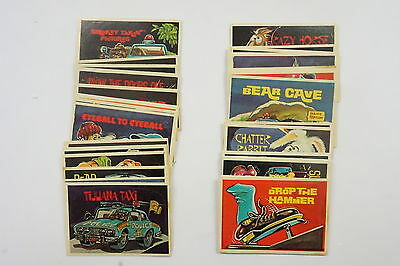 CB Convoy Code set of 44 sticker/cards excellent 1978