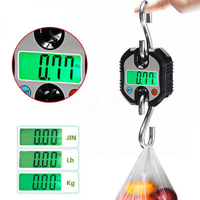 Mini Portable 150kg 0.1kg LCD Digital Weight Electronic Hook Hanging Crane Scale