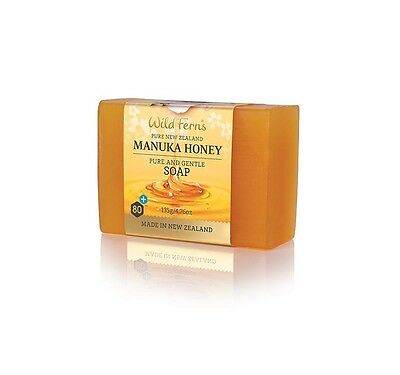 WILD FERNS NEW ZEALAND MANUKA HONEY PURE & GENTLE SOAP 135g - Paraben Free