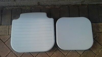 AKW 4000 disabled folding shower chair replacement seat and back pads.