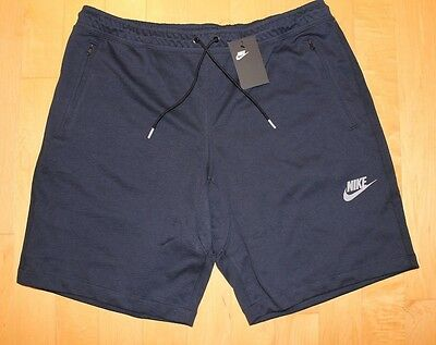 NWT NIKE Men's Dri-Fit UTILITY Lightweight Shorts NAVY BLUE 3XL