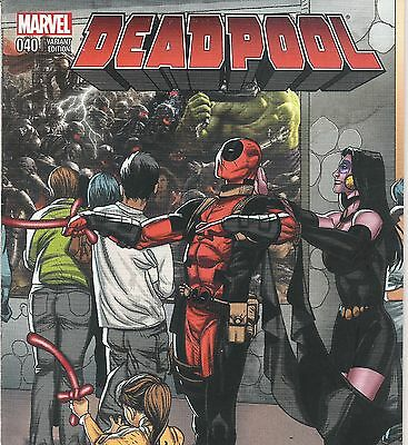 Deadpool #40 Larroca Star Wars Welcome Home Connecting Variant