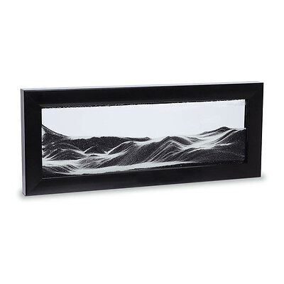 NEW Moving Sand Art in black picture frame Men's by The Design Gift Shop