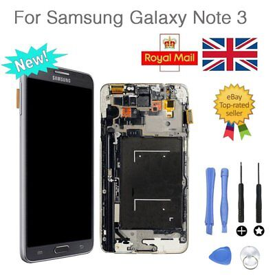 LCD Display Touch Screen Replacement Black For Samsung Galaxy Note 3 N9005 UK