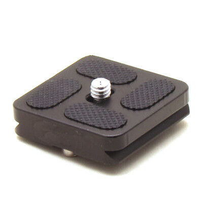 PU 40 Quick Release Plate For J1 N1 Tripod Ball Head Arca Swiss Accessory New