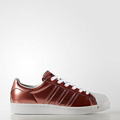 New adidas Originals Superstar Boost Shoes BB2270 Women's Brown Sneakers