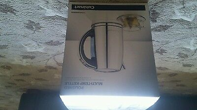 Cuisinart CPK17U Multi Temp 1.7 Litre Jug Kettle Brushed Stainless Steel