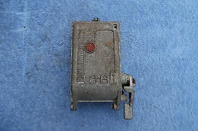 Vintage Bill Cast Iron Fuse Box Use Or Repurpose Industrial Steampunk Prop